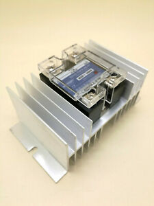 Us Stock Ssr 40a Dc Control Ac 110v Solid State Relay Heat Sink Thermal Grease