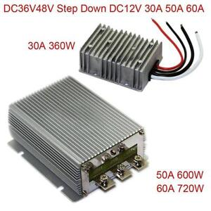 Dc36v48v Step Down 12v 30a 50a 60a Power Supply Converter Module Waterproof Ip68