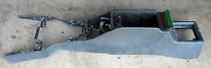 1983 1984 Ford Thunderbird Turbo Coupe Interior Center Console Grey Orig 83 84