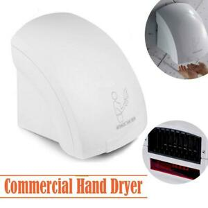 New 1800w Automatic Hand Dryer W Infared Sensor Commercial Bathroom Household
