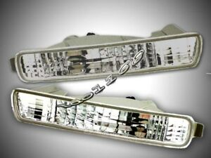 Fit For 96 97 Honda Accord Euro All Clear Bumper Signal Lights