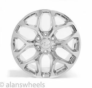 4 New Chevy Silverado Avalanche Chrome 20 Wheels Rims Lugs Free Shipping 5668