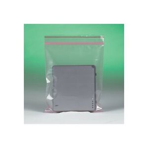 minigrip Anti static 4 Mil Reclosable Poly Bags 4 X 6 Clear 1000 case