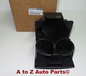 New 2008 2015 Nissan Titan Center Console Instrument Panel Cup Holder Oem
