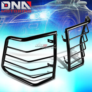 For 05 10 Jeep Cherokee Black Coated Steel Tail Light lamp Cage Guard mounting