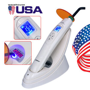 Dental Cordless Led Curing Light 1 Sec Pro105 Lamp Wireless 1600 Mw