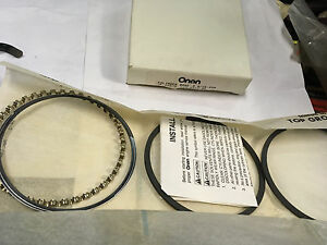 Onan Piston Ring Set Parts 113 0312 30 Nos For Small Engine Garden Tractor rv