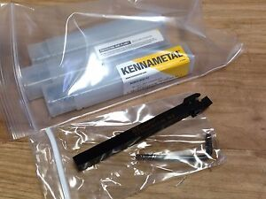 New Kennametal A3scl Cut Off Grooving Indexable Tool Holder 3 8