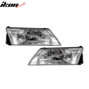 Fits 95 97 Nissan 200sx Headlights Lamps Rh Lh Pair