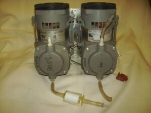 2 Thomas 107ca18tfe 1288 Compressor Vacuum Pumps