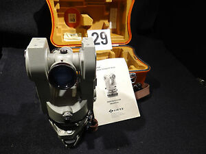 Sokkisha Double Center Lietz Theodolite Tm20c Transit Level Surveyor Survey