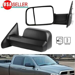 Towing Mirrors 2010 Dodge Ram 1500 In Stock Replacement