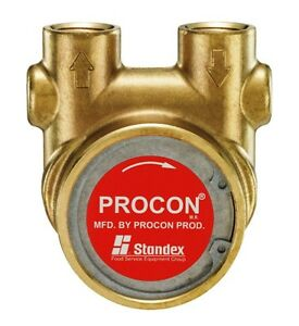 Procon Pump Model 114a330f11xx Brass 1 2 Npt Ports Carbonator 330 Gph New