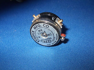 Kendick Mfg Co Model 1103a Potentiometer Vintage Museum Collectible