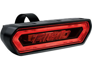 Rigid 90133 Chase Led Red Light Universal Rear Facing 3 function W Tube Mount
