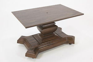 Laminate Molded Plastic Tv Stand Lamp Table Or Server Casters Mid Century