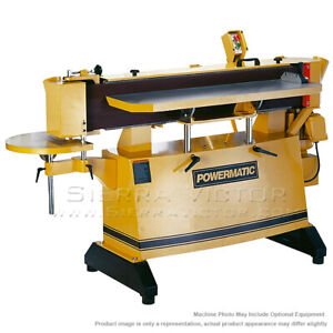 9 X 138 3 4 Powermatic Oes 9138 Oscillating Edge Sander 3ph