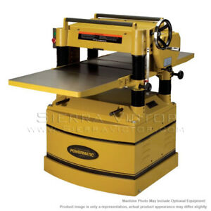 Powermatic 209hh 1 Planer 5hp 1ph 230v With Helical Head 1791315