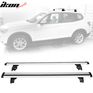 Fits 08 Audi Q5 06 Q7 16 X1 Suv 47 Roof Rack Cross Bar Rail Cargo Carrier