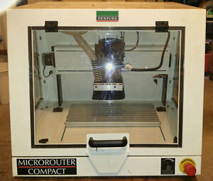 Denford Cnc Router Microrouter Compact 110 Vac 1 5 Hp 23 000 Rpm 0925