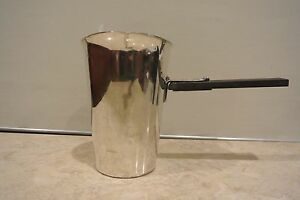 Vintage Academy Silver On Copper 17 Saucepan Warmer Pitcher 5 Cups