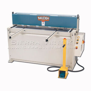 Baileigh Sh 5210 Hydraulic Sheet Metal Shear