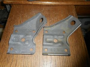1969 1970 1971 Ford Boss 302 429 428cj 4 Speed Mustang Staggered Shock Plates