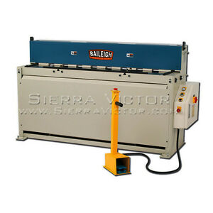 Baileigh Hydraulic Metal Shear Sh 6014
