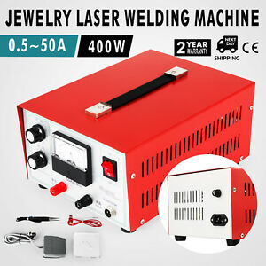 Jewelry Laser Welding Machine 0 5 50a Handheld Pulse Sparkle Spot Welder 110v