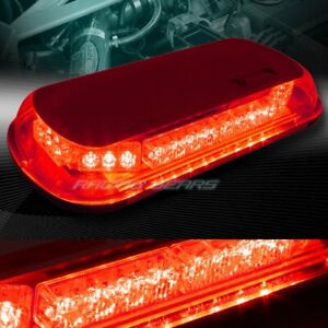 34 Led Red Truck Emergency Roof Top Hazard Warning Flash Strobe Light Universal