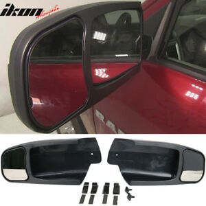 Fits 09 14 Dodge Ram 1500 Oe Factory Style Side View Towing Mirror Extension 2pc