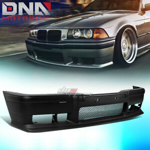 For 92 98 Bmw E36 3series 1pc M3 Style Abs Front Bumper Cover Body Kit Grille