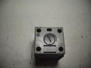 Allen bradley 100 fptb180 Relay Timing Module Timer 3 180s Off Delay Quantity