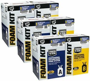 Touch n Seal 600bf Spray Foam Insulation Kit Closed Cell standard Fr Qty Of 3