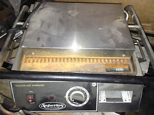 Commercial Superior Press And Grill Panini Maker sandwhich Grill