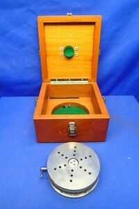 Ultradex Aa Gage 5 Precision Optical Rotary Table W case