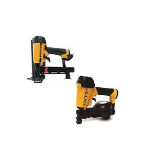 Bostitch 1 3 4 Roofing Nailer And 18 gauge Cap Stapler Roofkit2 New