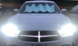 2011 2014 Dodge Charger Hairs Illuminated Cross Front Grille Led White Light