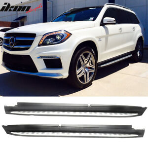 Fits 13 19 Benz Gl class Gls Oe Factory Style Running Board Side Steps Nerf Bars