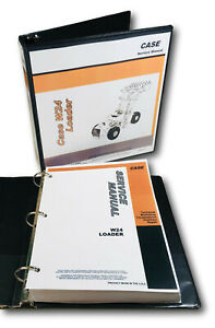 Case W24 Loader Tractor Service Technical Manual Repair Shop In Binder