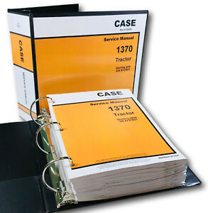 Case 1370 Tractor Service Repair Manual Technical Shop Book Overhaul