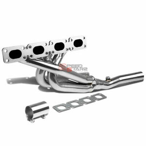Stainless Steel Racing Header Exhaust gasket For 89 96 Bmw E30 e36 M42 b18 318