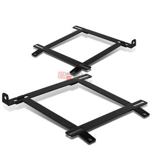 For 99 04 Ford Mustang Gt Sn 95 Mild Steel Racing Seats Low Mount Bracket Rail