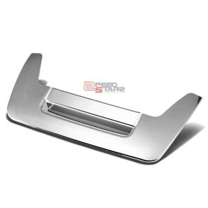 For 05 10 Nissan Frontier D40 Chrome Truck Tailgate Cargo Door Handle Trim Cap