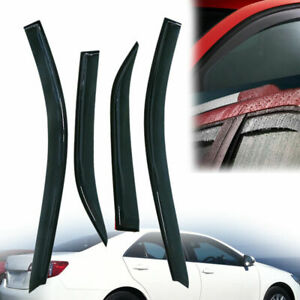 For 2012 2014 Toyota Camry Window Visors Rain Guard Vent Sun Shade Deflector 4pc