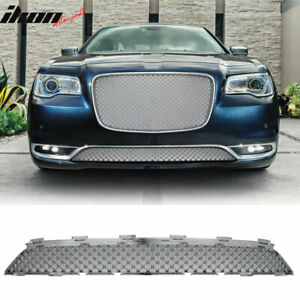 Fits 15 17 Chrysler 300 300c B Style Front Lower Grill Grille Chrome