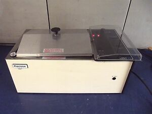 Precision Scientific Model 25 Shaking Water Bath works Good heats Up s2656