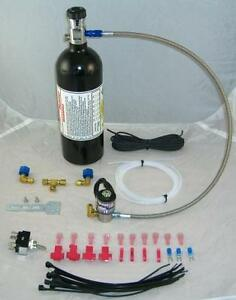 No Bottle Or Brackets Nitrous Oxide Kit For Efi Motorcycles Busa Gixer Hayabusa