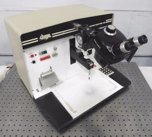C134465 Dage Microtester 22 Wire Bond Pull Shear Tester W Sz4 20gm Load Cell
