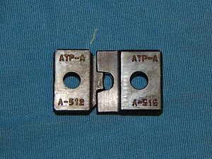 Set Of Molex Atp aa 512 Crimp Dies 2 Pieces Etce1 Mxe2